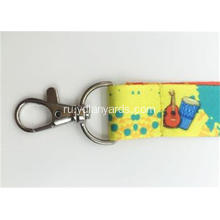 Polyester Lanyard With 2 Sides Different Logo